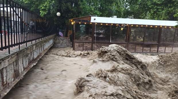 Доступ к достопримечательностям Ялты решили закрыть на три дня из-за потопа