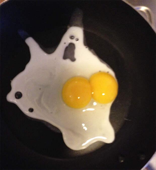 Привидение на сковородке.