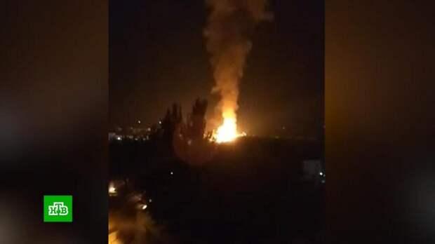 В центре Луганска взорвался газопровод