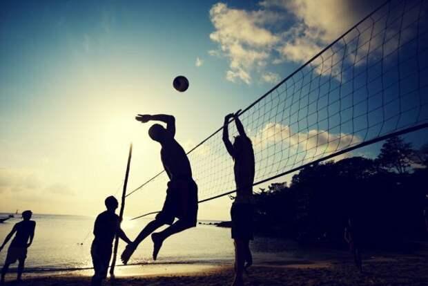 История появления волейбола.