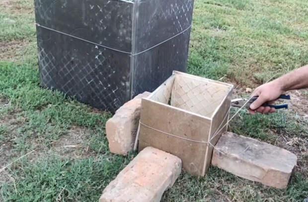 Достойное применение остаткам керамической плитки на дачном участке