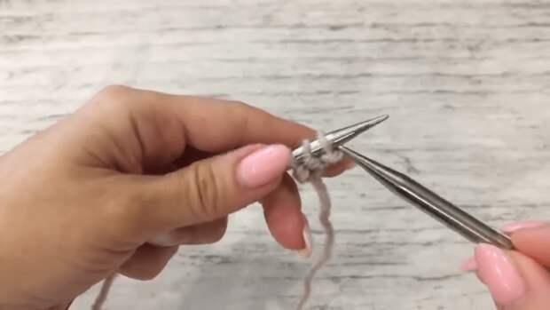 Как легко связать уютный бактус без дополнительной обвязки