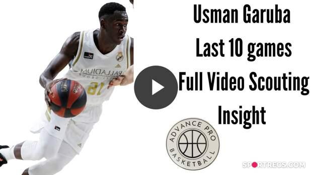 Usman Garuba - Video Scouting Insight