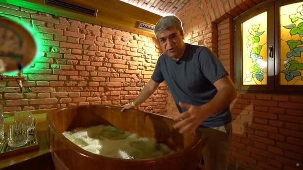 Мужской рай: как делают чешскую пивную ванну