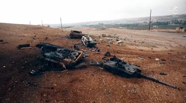 В США раскрыли данные о многочисленных потерях турецких танков Leopard 2 в Сирии