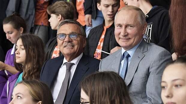 «Я — друг русских! Заслуги Путина перед Россией огромны». Честное интервью президента ИИХФ Фазеля
