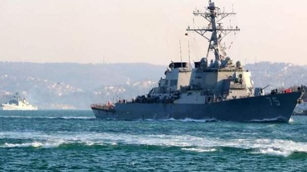 Охота на «Кука»: Эсминец США затравили в Черном море как зайца