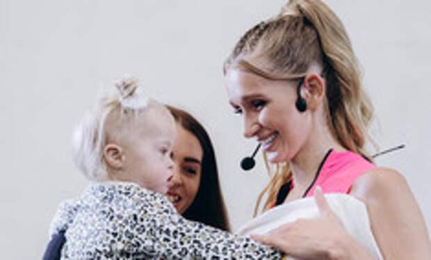 Алина Левда помогла девочке с пороком сердца