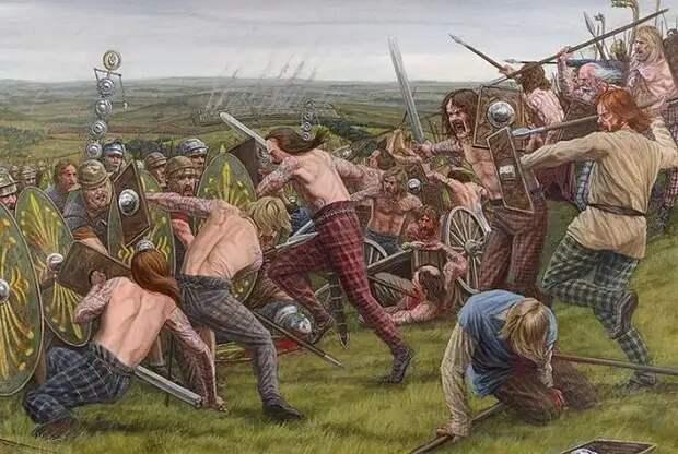 Пикты– древний народ,не считавший себя единой группой людей