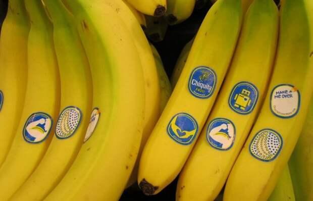 Что означают цифры на наклейках бананов и других фруктов