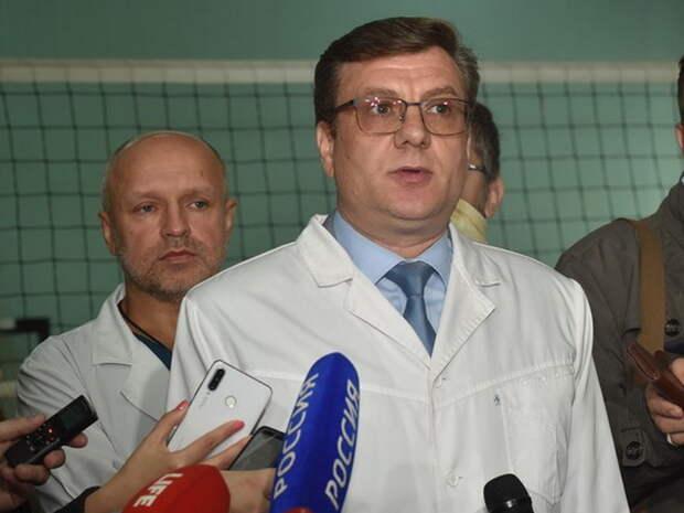 Бывший главврач больницы в Омске, где лежал Навальный, пропал в лесу. Ранее в БСМП-1 за два месяца умерли 2 врача