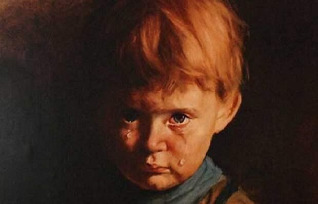 Загадка и проклятие «Плачущего мальчика»: Почему Амадио назвали живописцем дьявола