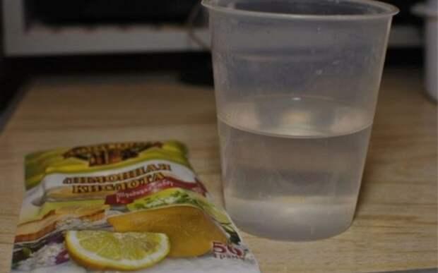 маринад для шашлыка с лимонной кислотой