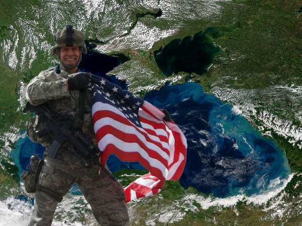 Американцы решили навсегда «прописаться» в Чёрном море
