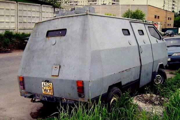 Брошенный инкассаторский броневик для Госбанка СССР