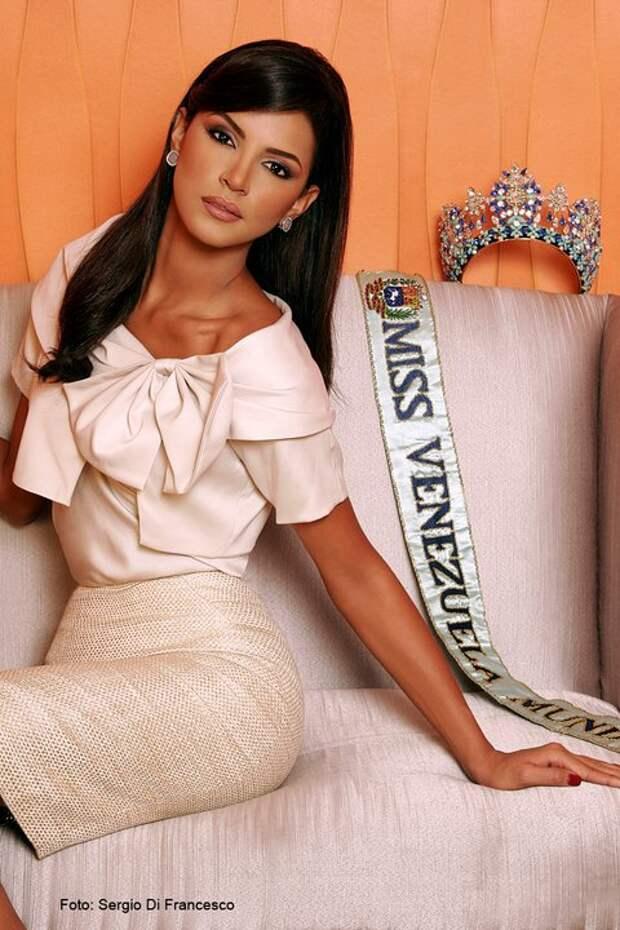 венесуэлка Ивиан Саркос, Мисс мира 2011. Фото / Ivian Sarcos (Venezuela) Miss World 2011. Photo