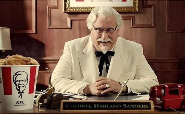 """Старик привез на """"заправку"""" 6-ть старых столиков и стал делать КУРИЦУ. Так появился """"KFC"""""""