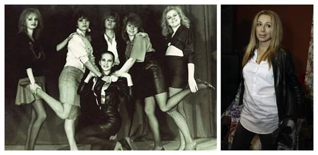 группа Комбинация в 1989 году и Алёна Апина в 2016