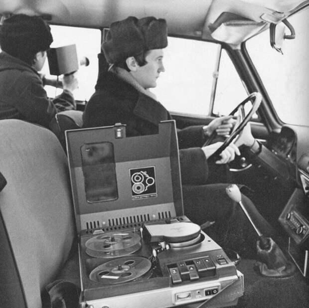 Оперативная видеосъёмка, СССР, 1970-е история, ретро, фото