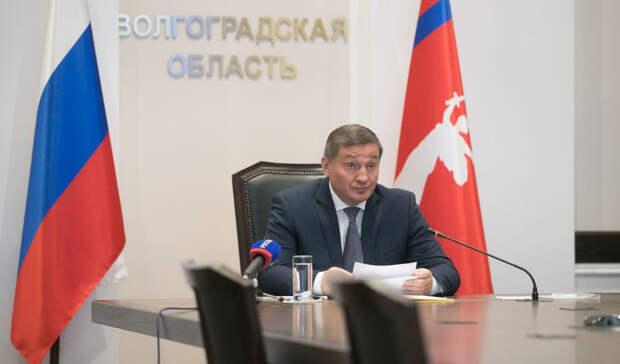 Бочаров ввел особый противопожарный режим в Волгоградской области