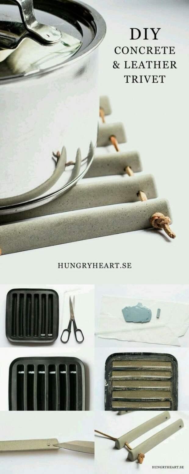 Бетонный дизайн. Идеи