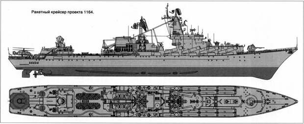 Гордость отечественного флота — нестареющий и легендарный ракетный крейсер «Москва»