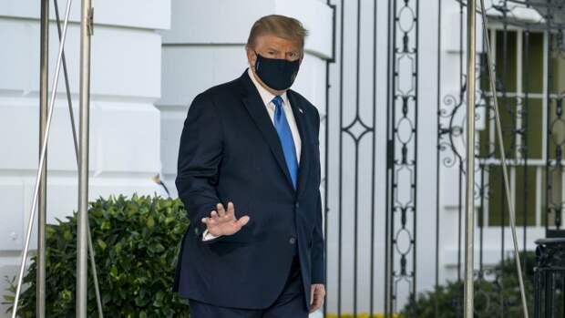 Президент США Дональд Трамп заразился коронавирусной инфекцией
