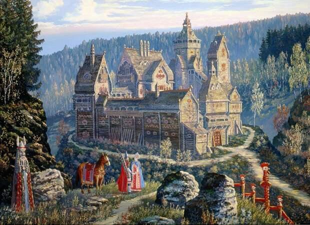Кавказское царство славян