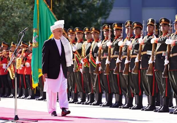 Президент Афганистана допустил начало гражданской войны после вывода войск США