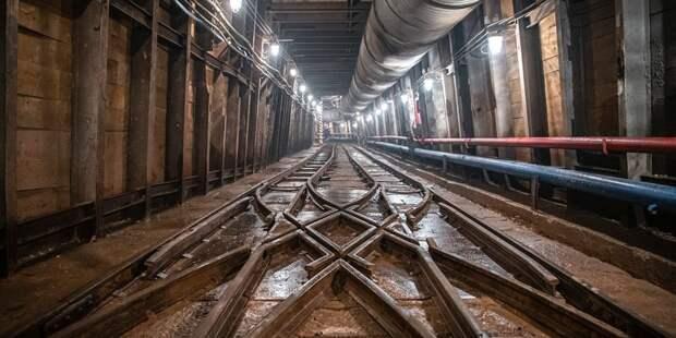 Основные конструкции станции метро «Лианозово» готовы на 50%