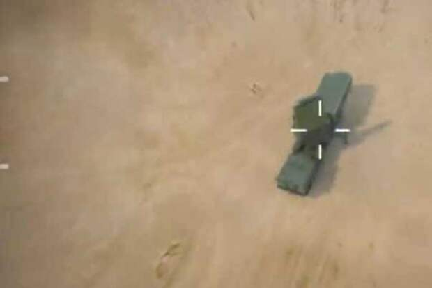 Опубликованы кадры уничтожения С-300 израильским беспилотником IAI Harop