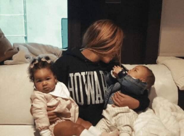 Бейонсе  с детьми