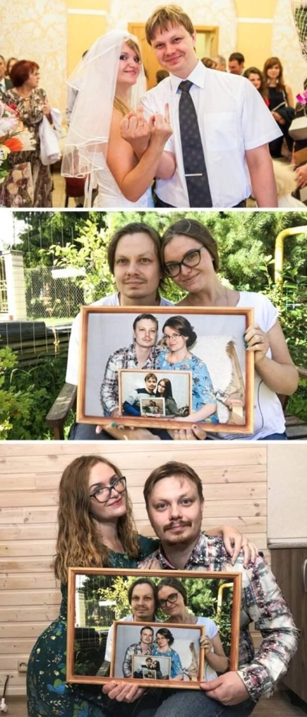 Семейная пара фиксирует каждый год жизни
