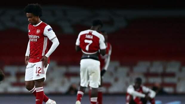 «Арсенал» не попал в топ-4 АПЛ пятый год подряд