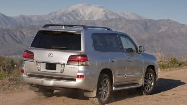 Внедорожник Lexus LX получит турбодизель