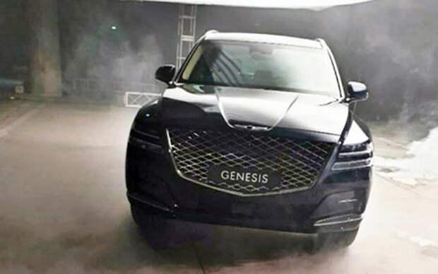 Новый Genesis — первые фото серийного кроссовера