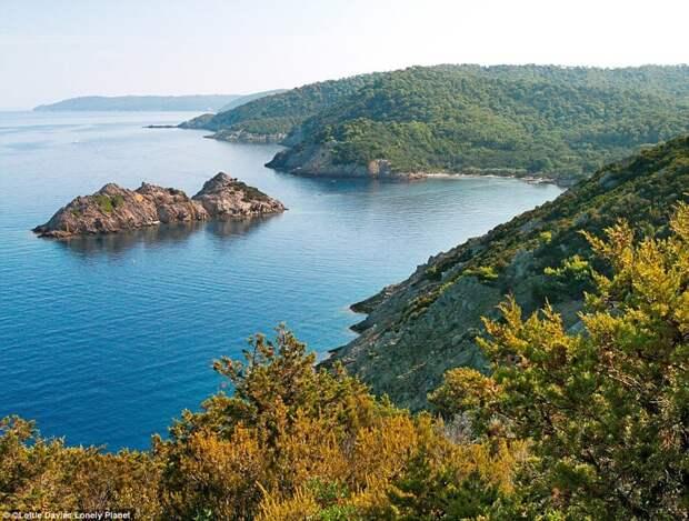 Национальный парк Порт-Крос, Франция европа, красоты, национальные парки, природа