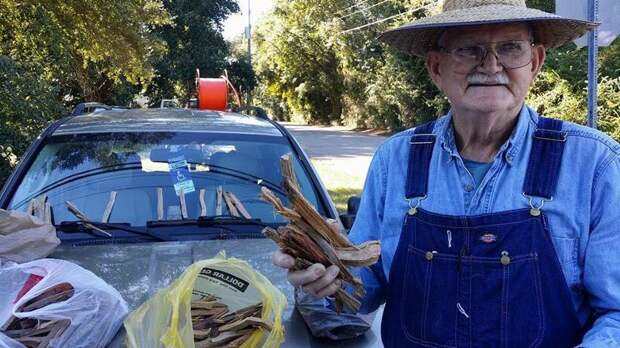 Эти фото пенсионера, продающего дрова, помогли ему собрать $80 тыс. всего за неделю