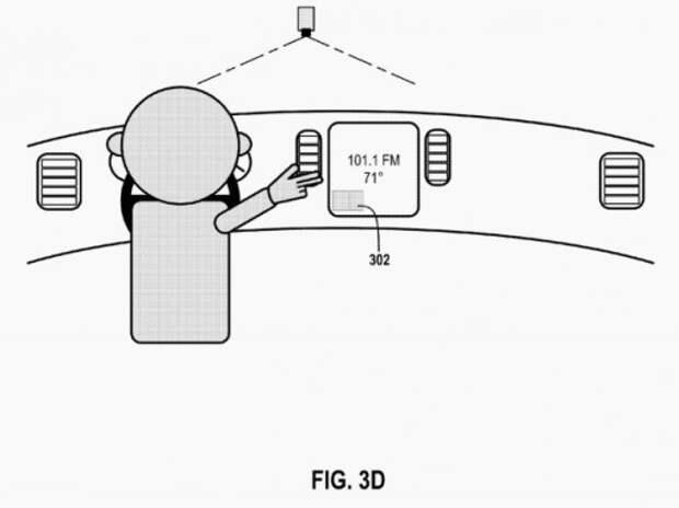 Google запатентовал управление автомобилем с помощью жестов
