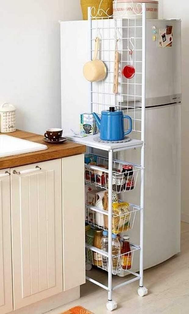 19 идей для маленькой и тесной кухни
