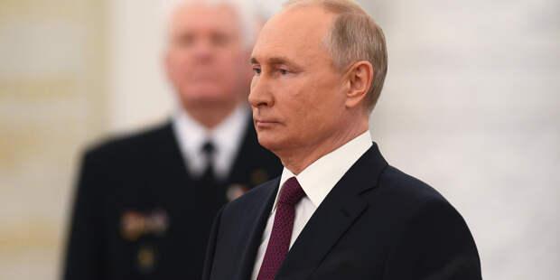 Путин рассказал, что после второго укола от COVID у него была температура