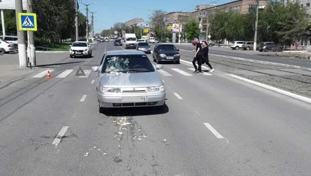 Напроспекте вОрске 18-летняя девушка сбила машиной бабушку
