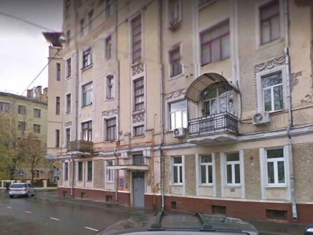 В Москве продают право аренды подвала в доме 1917 года постройки на Арбате