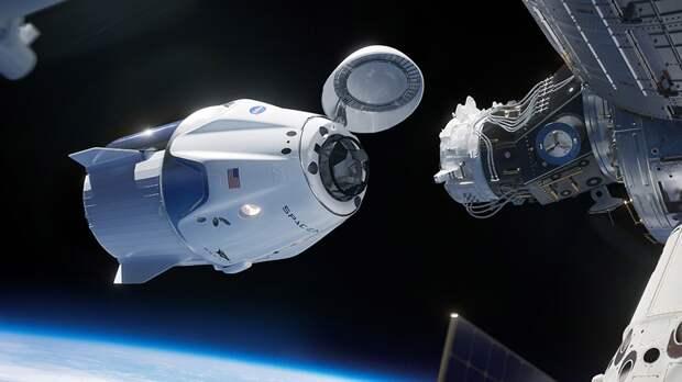Роскосмос перечислил недостатки корабля Crew Dragon