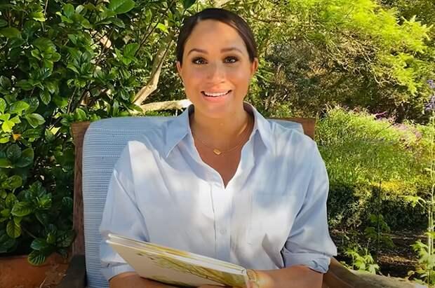 Меган Маркл прочитала отрывок из своей книги: видео