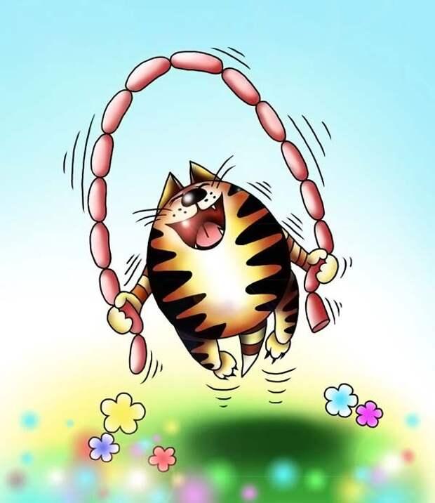 Без кошек жить нельзя на свете, нет!