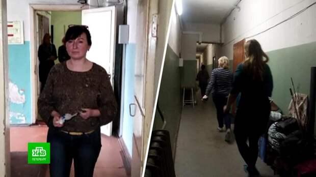 Собственник бывшего общежития пытается избавиться от его обитателей