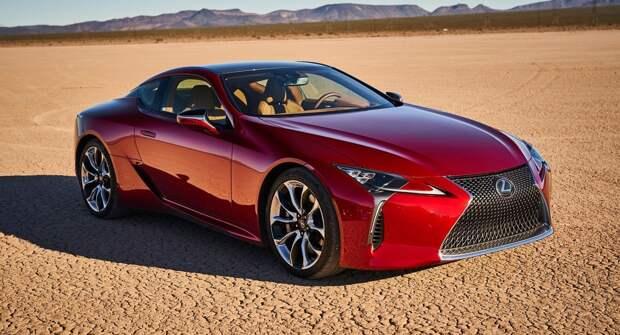 Мощное и современное купе премиум-класса, для ценителей дороги: Lexus LC
