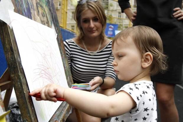 Конкурс детских рисунков пройдет в Строгине