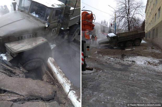 Новый год в оккупированном Луганске.